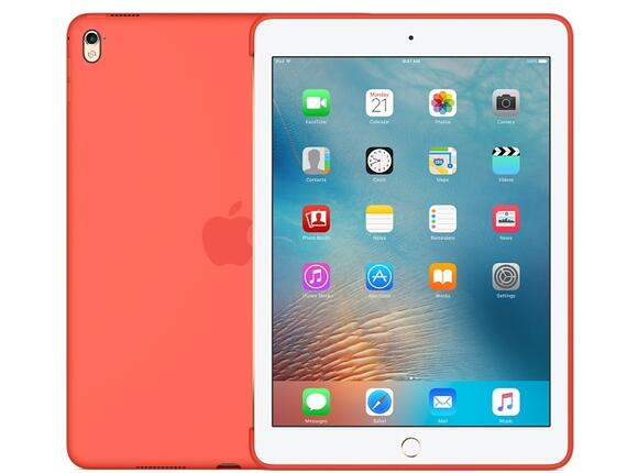 Калъф Apple Silicone Case for 9.7-inch iPad Pro - Apricot - 2