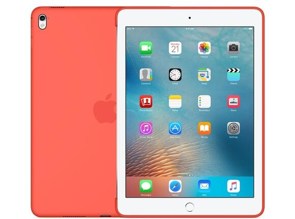 Калъф Apple Silicone Case for 9.7-inch iPad Pro - Apricot - 4