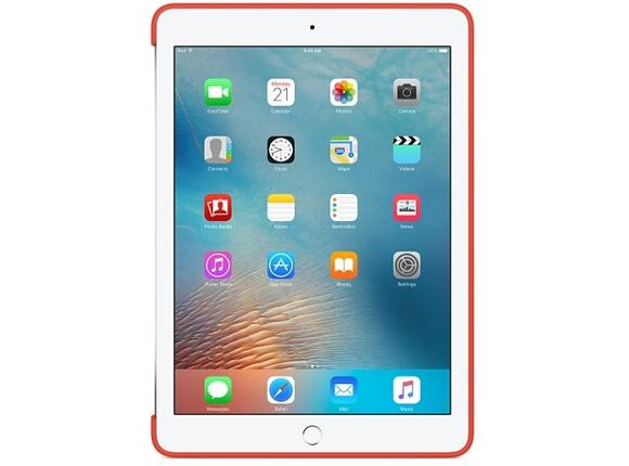 Калъф Apple Silicone Case for 9.7-inch iPad Pro - Apricot - 8