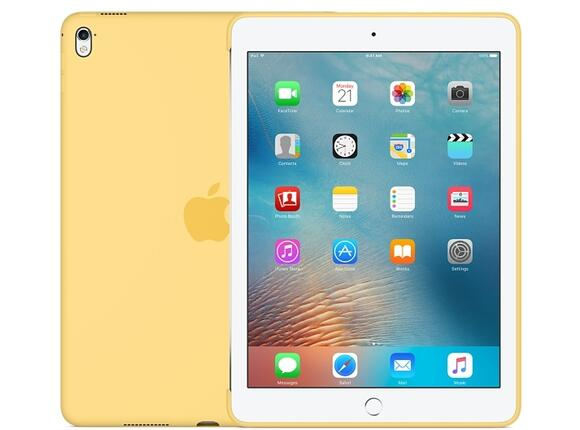 Калъф Apple Silicone Case for 9.7-inch iPad Pro - Yellow - 4