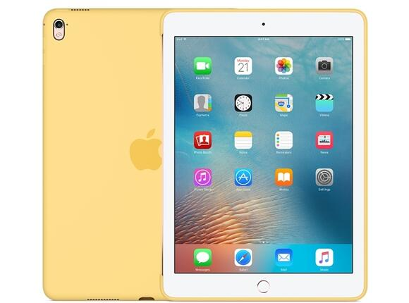 Калъф Apple Silicone Case for 9.7-inch iPad Pro - Yellow - 3