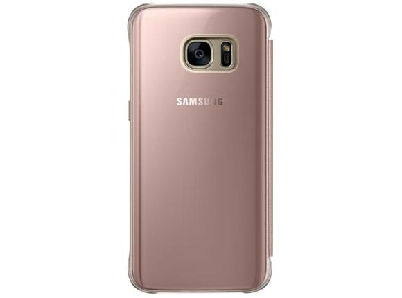 Калъф Samsung G930 ClearViewCover PinkGold for Galaxy S7 - 2