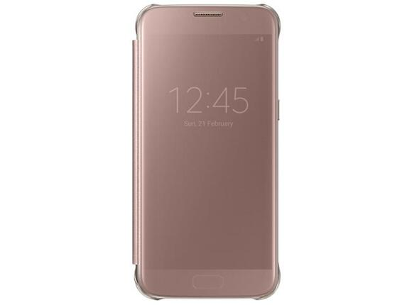 Калъф Samsung G930 ClearViewCover PinkGold for Galaxy S7