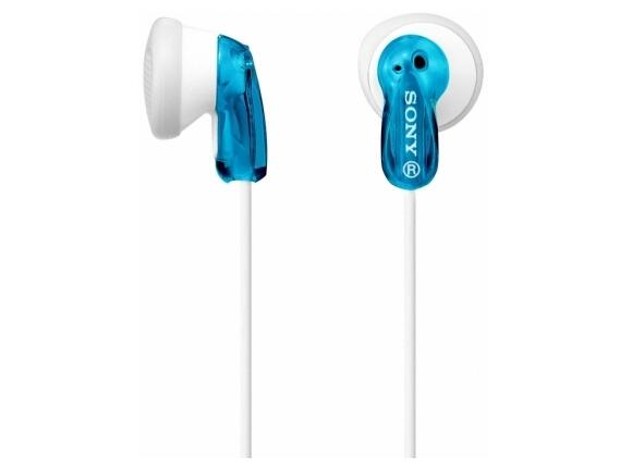 Слушалки Sony Headset MDR-E9LP blue