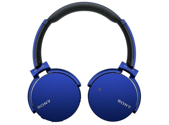 Слушалки Sony Headset MDR-XB650BT with Bluetooth and NFC - 2