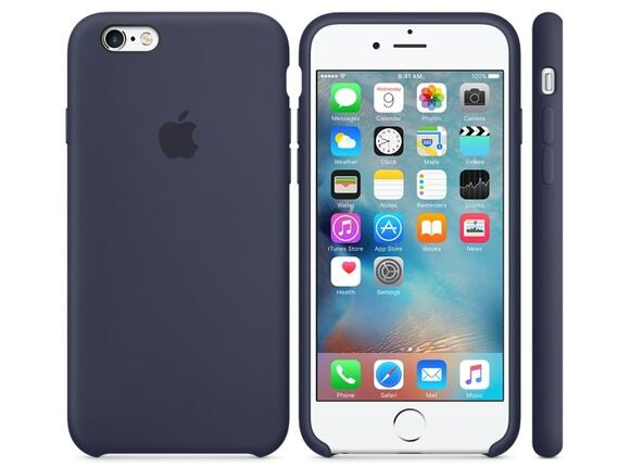 Калъф Apple iPhone 6s Silicone Case - Midnight Blue - 4