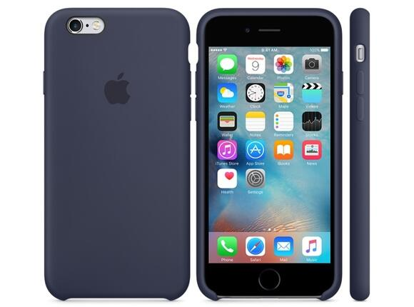 Калъф Apple iPhone 6s Silicone Case - Midnight Blue - 5
