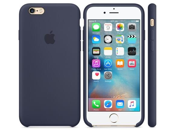 Калъф Apple iPhone 6s Silicone Case - Midnight Blue - 2