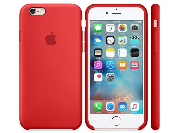 Калъф Apple iPhone 6s Silicone Case - (PRODUCT)RED - 3