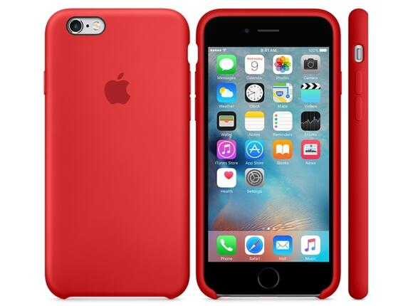 Калъф Apple iPhone 6s Silicone Case - (PRODUCT)RED - 5