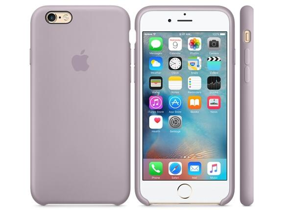 Калъф Apple iPhone 6s Silicone Case - Lavender - 2