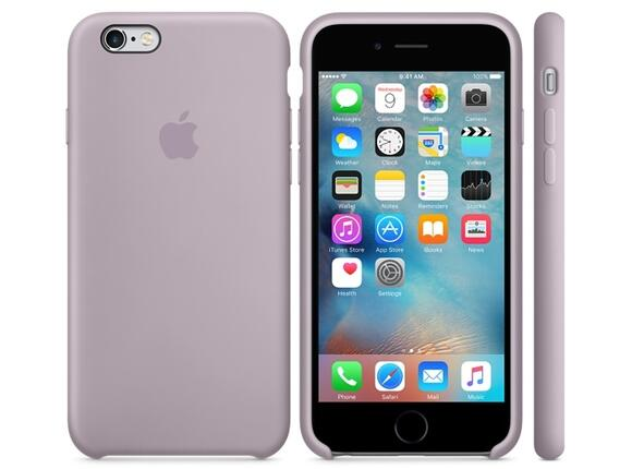 Калъф Apple iPhone 6s Silicone Case - Lavender - 5