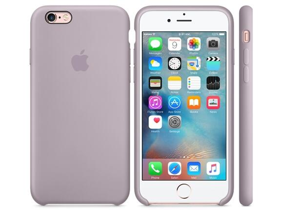 Калъф Apple iPhone 6s Silicone Case - Lavender - 3