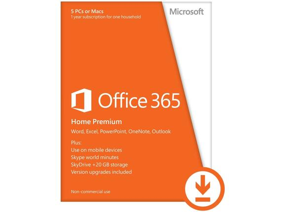 Софтуер Office 365 Home English EuroZone Subscr 1YR Medialess P2