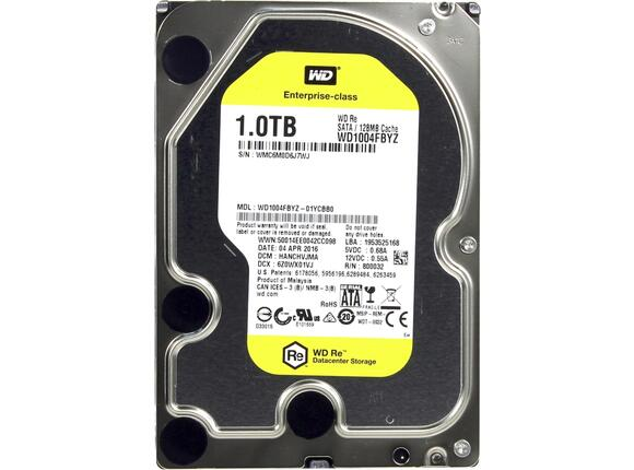 Твърд диск HDD 1TB SATAIII WD RE 7200rpm 128 MB for servers (5 years warranty) - 3