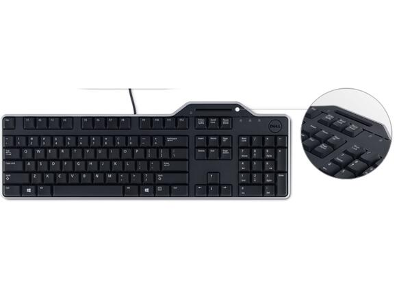 Клавиатура Dell KB813 Smartcard Keyboard - 2