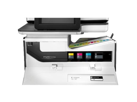 Мултифункционално у-во HP PageWide Enterprise Color MPF 586dn - 5