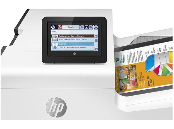 Принтер HP PageWide Enterprise Color 556dn - 4
