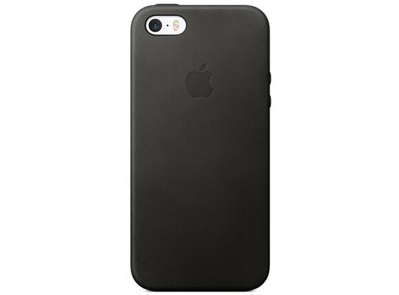 Калъф Apple iPhone SE Leather Case - Black