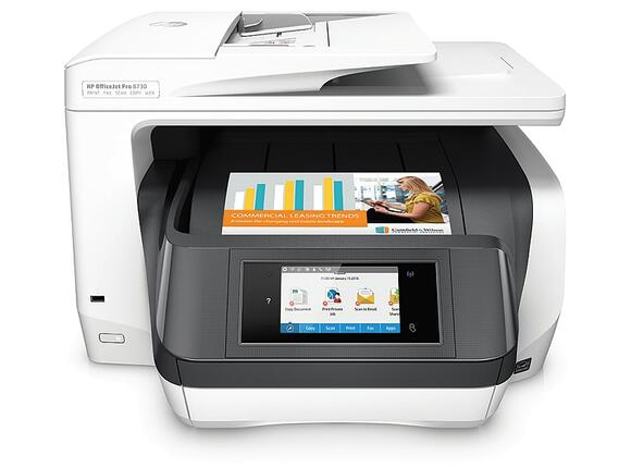 Мултифункционално у-во HP OfficeJet Pro 8730 All-in-One Printer