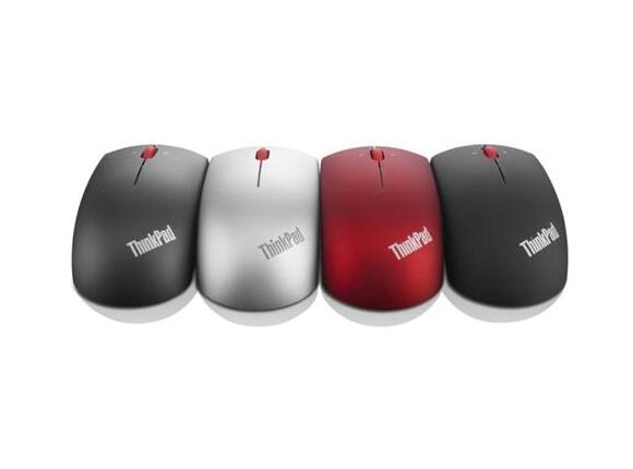 Мишка Lenovo ThinkPad Precision Wireless Mouse - Heatwave Red - 2