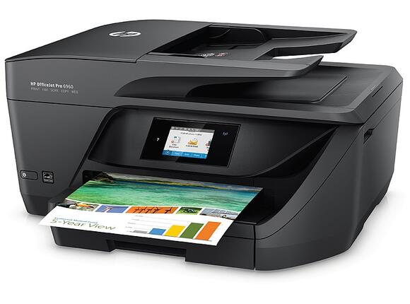 Мултифункционално у-во HP OfficeJet Pro 6960 All-in-One Printer - 2