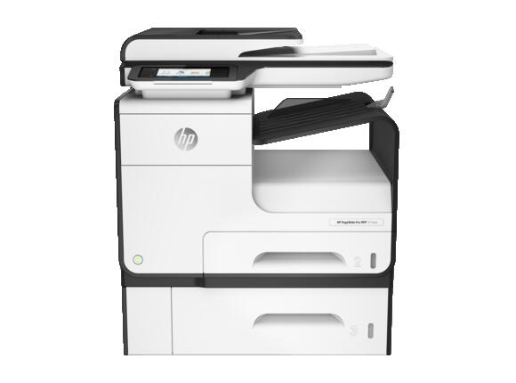 Мултифункционално у-во HP PageWide Pro MFP 477dwt Printer and tray
