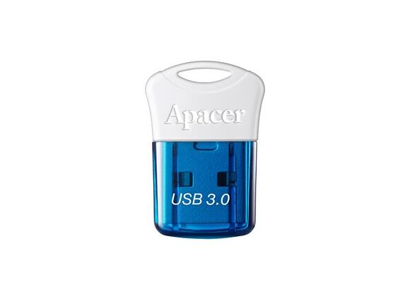 Флаш памет Apacer 32GB Super-mini Flash Drive AH157 Blue - USB 3.0 interface