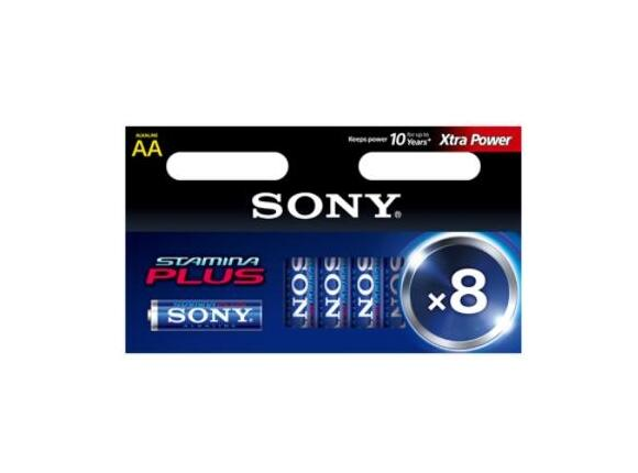 Батерия Sony AM3-B6X2D Alkaline LR6-AA Stamina Plus 6+2 pcs