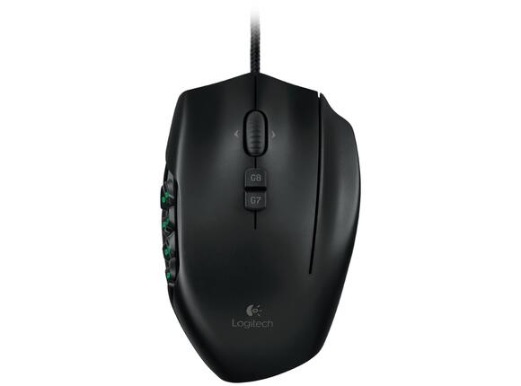 Мишка Logitech G600 MMO Gaming Mouse - Black - 3