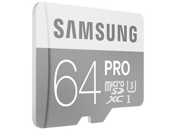 Флаш карта Samsung MicroSD card Pro series with Adapter - 2