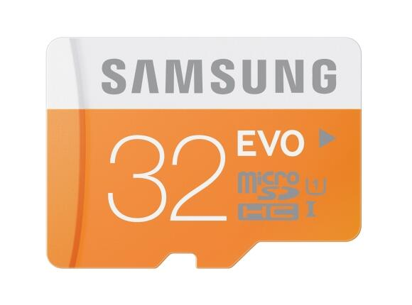 Флаш карта Samsung 32GB micro SD Card EVO w/o Adapter