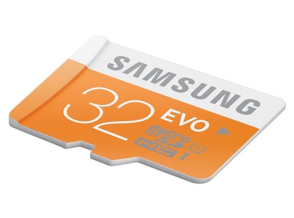 Флаш карта Samsung 32GB micro SD Card EVO w/o Adapter - 2