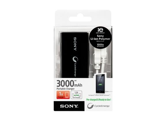 Захранване Sony CP-V3A Portable power supply 3 000mAh - 2