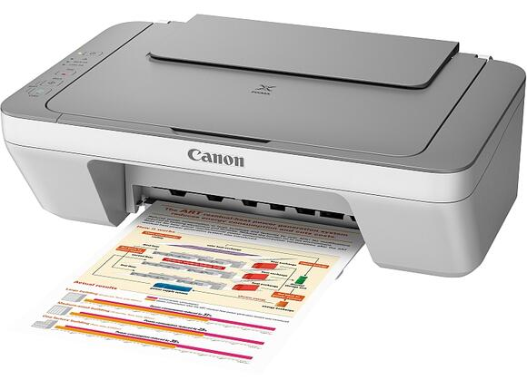 Мултифункционално у-во Canon PIXMA MG2450 Printer/Scanner/Copier + Canon AS-120 - 4