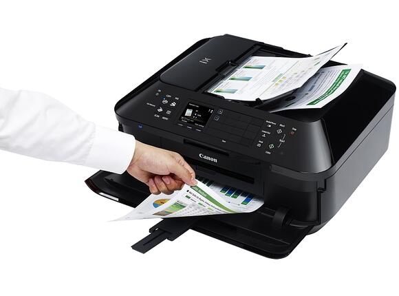 Мултифункционално у-во Canon PIXMA MX925 All-in-one Printer + Canon AS-120 - 6