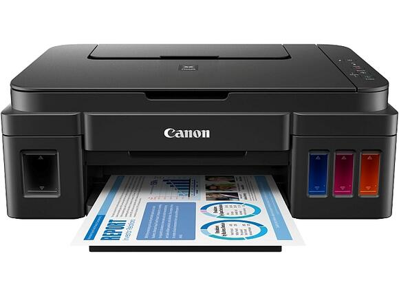 Мултифункционално у-во Canon PIXMA G2400 Printer/Scanner/Copier + Canon AS-120 - 2