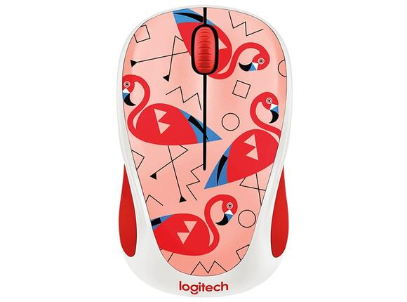Мишка Logitech Wireless Mouse M238 Party Collection - FLAMINGO