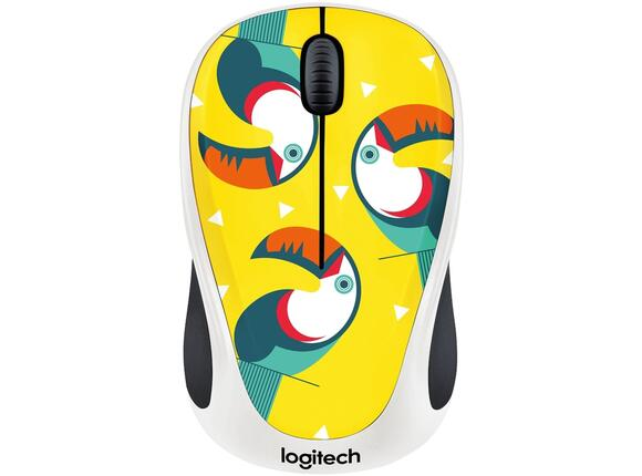 Мишка Logitech Wireless Mouse M238 Party Collection - TOUCAN