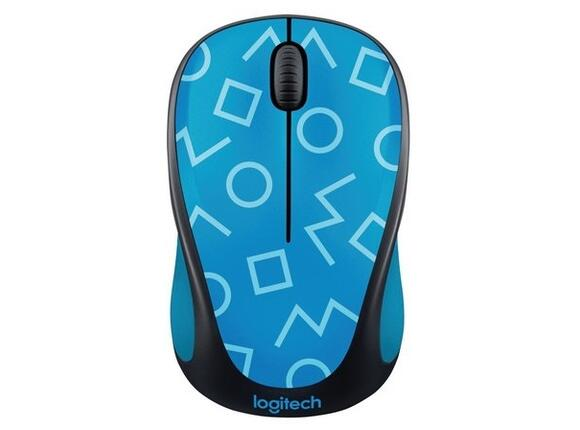 Мишка Logitech Wireless Mouse M238 Party Collection - GEO BLUE
