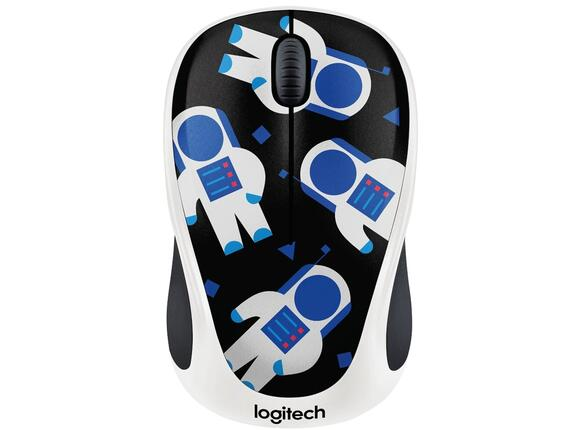 Мишка Logitech Wireless Mouse M238 Party Collection - SPACEMAN