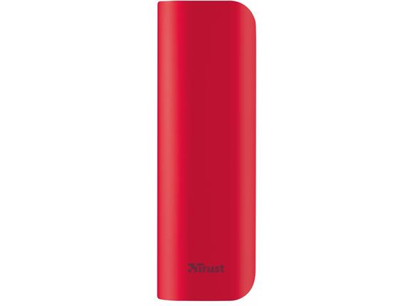 Захранване TRUST Primo Power Bank 2200 Portable Charger - red - 3