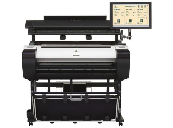 Плотер Canon imagePROGRAF iPF770 including Stand + MFP Scanner M40-AIO for Canon iPF + Free set of starter inks