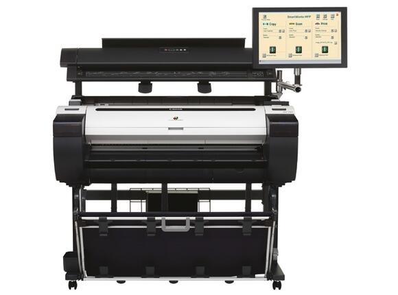 Плотер Canon imagePROGRAF iPF785 including Stand + MFP Scanner M40-AIO for Canon iPF + Free set of starter inks