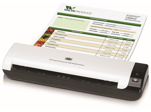 Скенер HP Scanjet Professional 1000 Mobile Scanner - 3