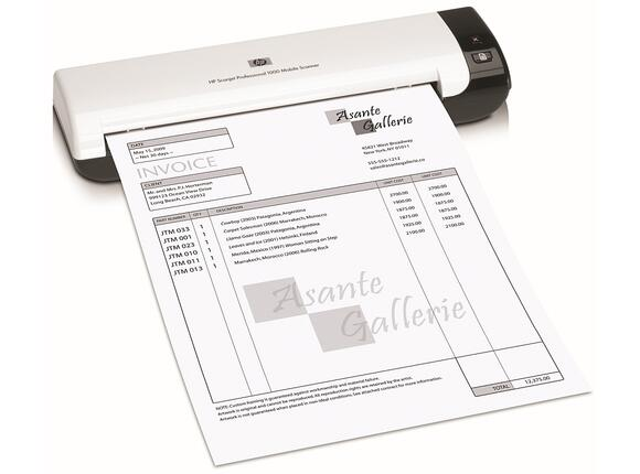 Скенер HP Scanjet Professional 1000 Mobile Scanner - 2