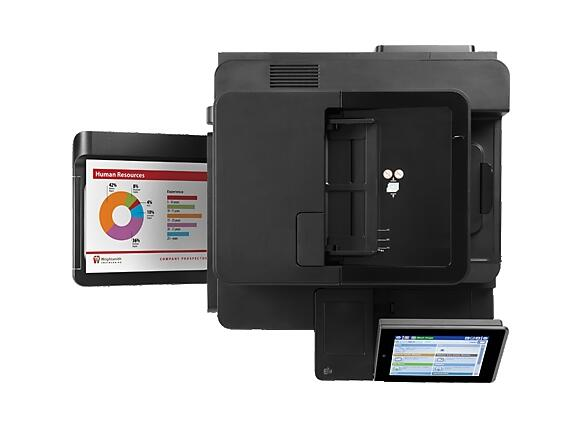Мултифункционално у-во HP Color LaserJet Enterprise MFP M680f Printer - 2