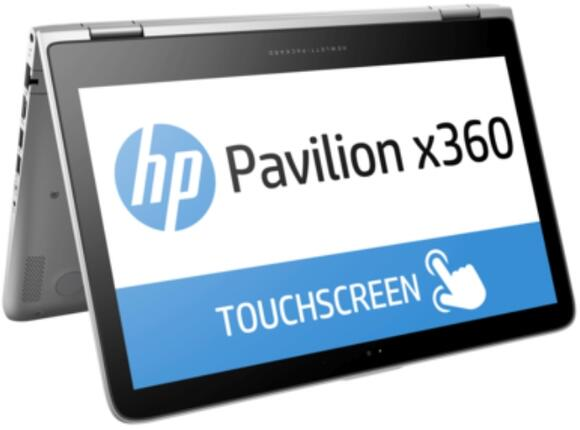 Лаптоп HP Pavilion x360 13-s102nu Natural silver - 7