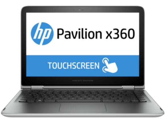 Лаптоп HP Pavilion x360 13-s102nu Natural silver - 3