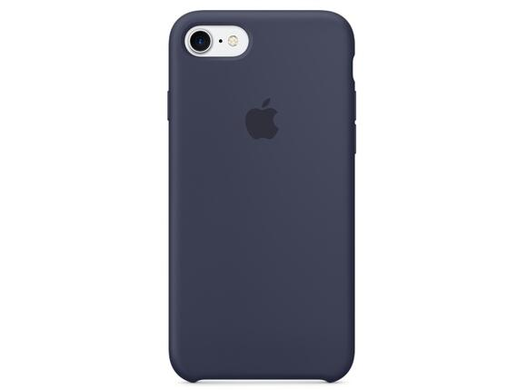 Калъф Apple iPhone 7 Silicone Case - Midnight Blue